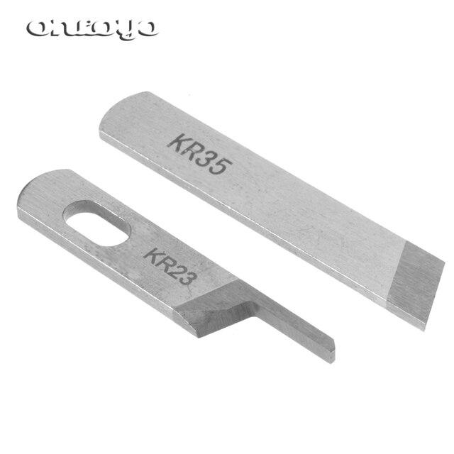 KR23 & KR35 Mes/Blade, Industriële Serger/Overlock Naaimachine Onderdelen, Voor JUKI, Siruba, pegasus, Jack...