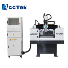 цена на AccTek high precision ATC 3d cnc milling machine for metal /cnc router machine for wood engraving