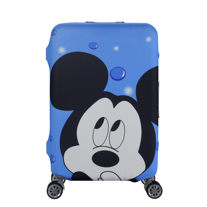 TRIPNUO Elastic Thickest Luggage Suitcase Protective Cover For19-32 Inch Protect Dust Bag Case Cartoon Travel Cover