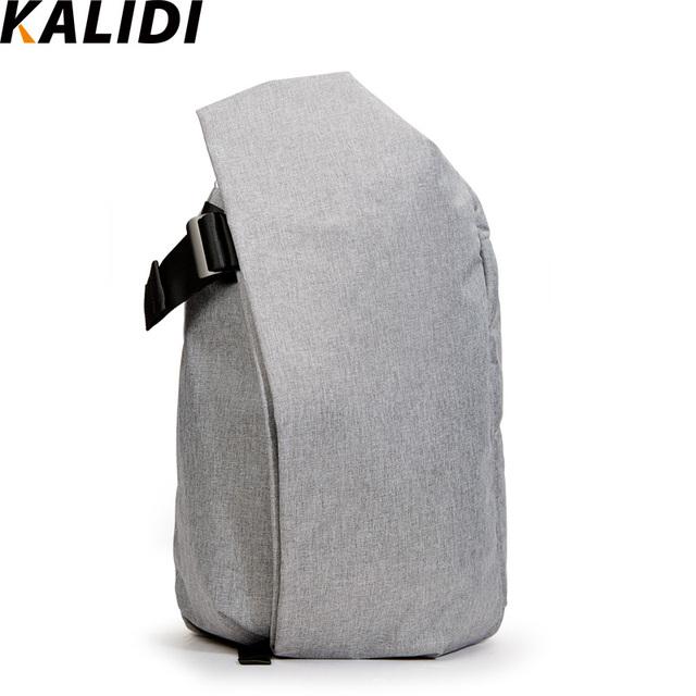 Kalidi mochila unisex mochila de grande capacidade à prova d' água laptop tablet para macbook pro 15.4 polegadas 17 polegada macbook notebook saco