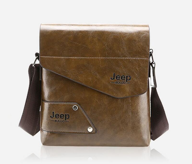 Male Famous Brand Design pu Leather font b Men b font font b Bag b font
