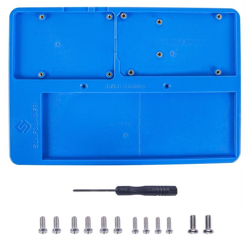 Sunfounder RAB 5 en 1 tablero titular Bases circuito placa Tornillos para Arduino Uno R3 mega 2560 frambuesa Pi 3 Modelo B
