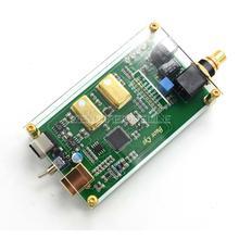 واجهة رقمية إخراج ألياف متحدة المحور USB غير متزامن XMOS XU208 IIS DSD256 spdif dop64 مع لوح من الأكريليك