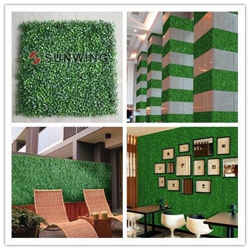 Artificial Boxwood Hedges 12pcs 50x50cm Decorative Leaf