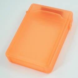 Лидер продаж 3,5 дюймов оранжевый IDE/SATA HDD жесткий диск Защита Коробка для хранения Дело