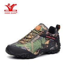 XIANGGUAN New Woman Hiking Shoes Women Waterproof Trekking Boots Green Zapatillas Sports Climbing Shoe Outdoor Walking