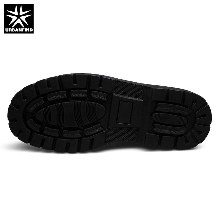 Hombres Alta Piel 39 48 Cuero Botas Zapatos Invierno Caliente Motocicleta Calidad Black Genuino Hombre De Tamaño Forro Gran Con Urbanfind 1xUEwg7q