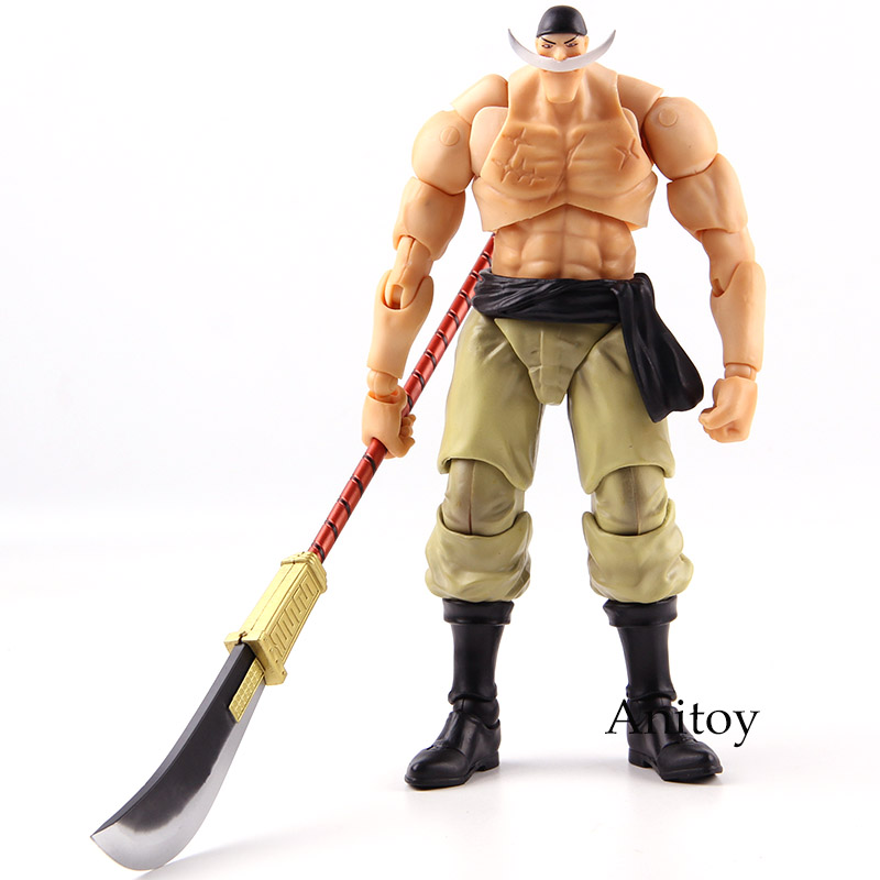 Megahouse Variable Action Heroes VAH One Piece Edward Newgate Whitebeard One Piece Figure Action PVC Collectible Model Toy new anime one piece kaido four emperors edward newgate white beard big mom 24cm pvc action figure model doll toys in boxed