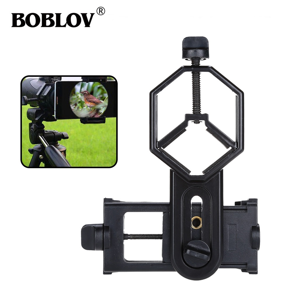 Image 2 - Free shipping!Spotting Scope Cell Phone Holder Astronomical Telescope Universal Stand Mount-in Spotting Scopes from Sports & Entertainment