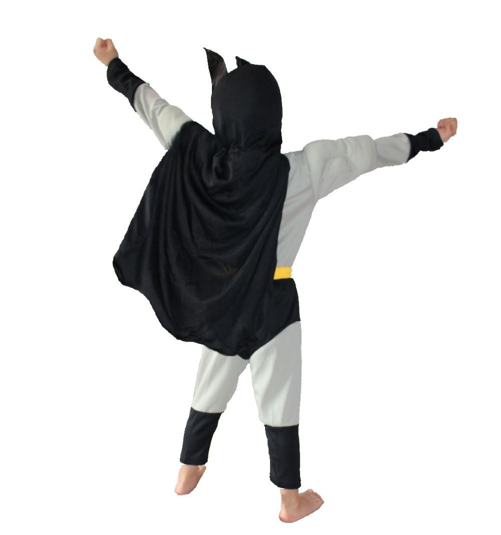 Boz 3-7 il Əyləncə Uşaqları Komik Marvel Batman Muscle Halloween - Karnaval kostyumlar - Fotoqrafiya 4