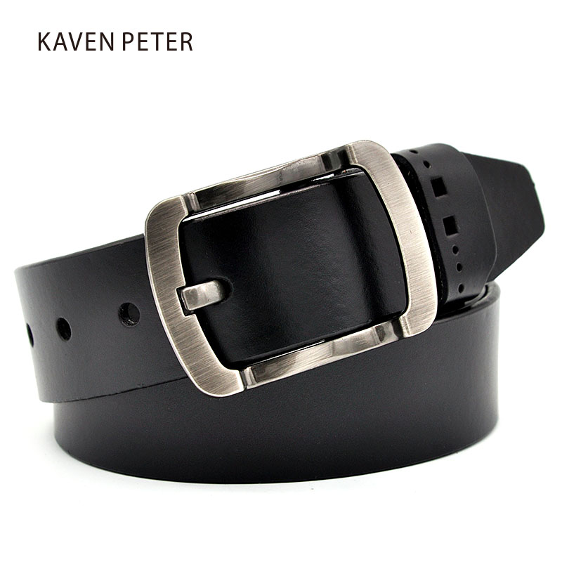 Men Cowhide Leather Belt Designer Classic Luxury Strap Male Belts Leather Belt Men Genuine Leather For Men Buckle Fancy Vintage
