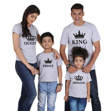 Family Clothing Fashion T shirt Mother Daughter Clothes Matching Outfits Father Son Set Shirt