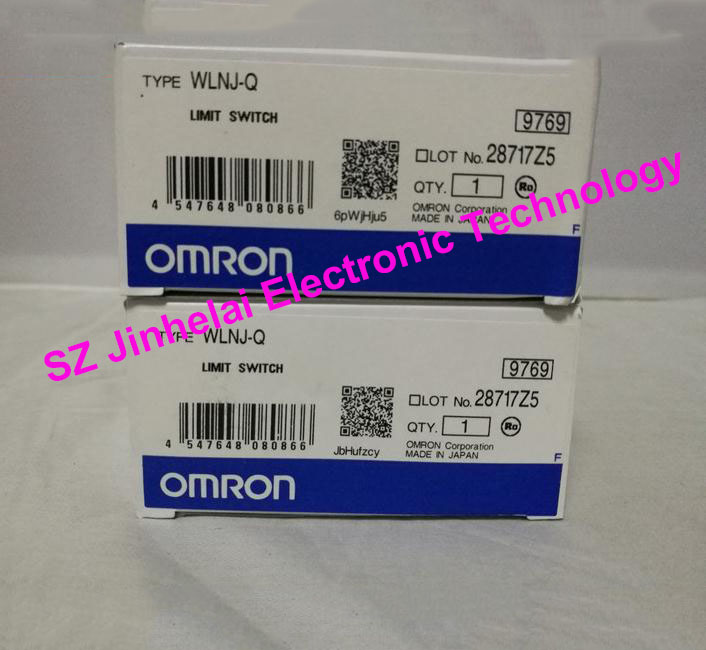 New and original OMRON LIMIT SWITCH  WLNJ-Q free shipping 1pcs lot original japanese limit limit wlnj