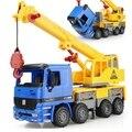1:22 grande tamanho meninos engenharia carro guindaste gancho máquina criança brinquedo do bebê carro caminhão modelo diecast brinquedos veículos crianças brinquedos