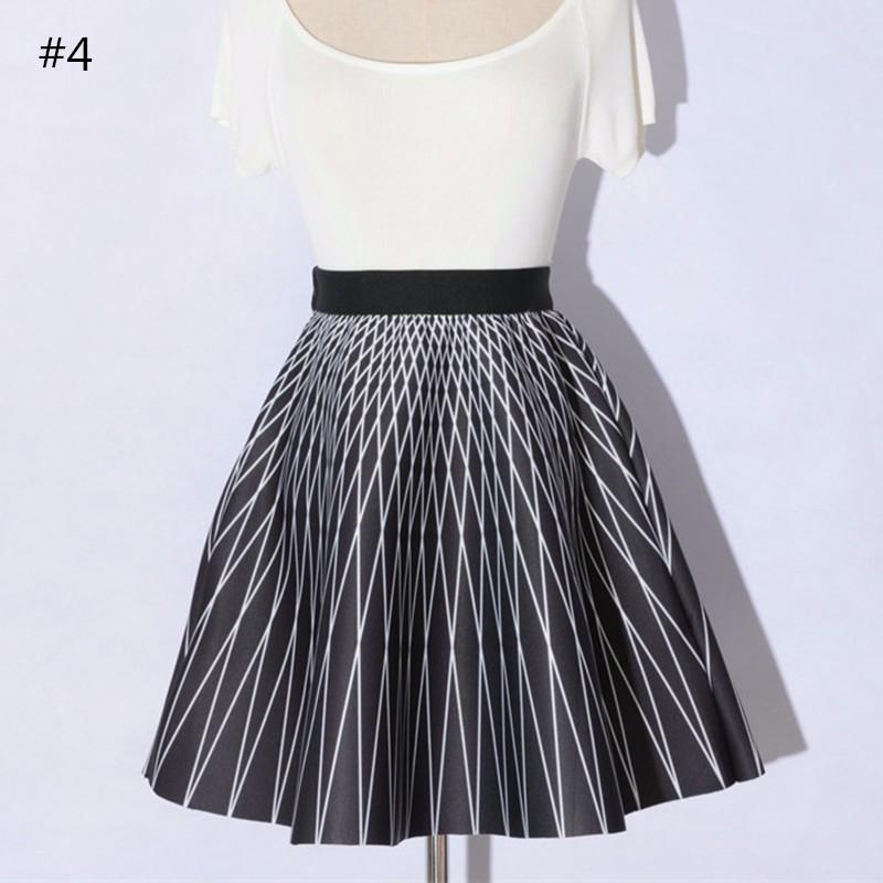 high waist skirt 06