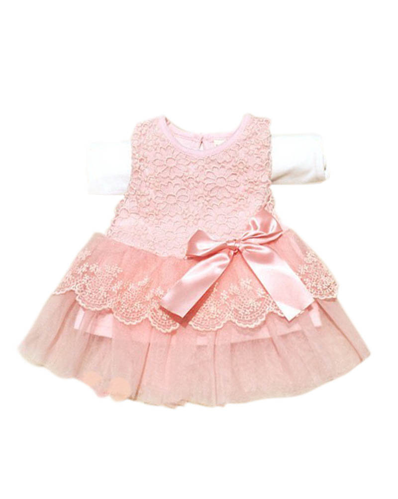 ⊹Vestido nuevo verano moda dulce Niñas niños flor princesa partido ...