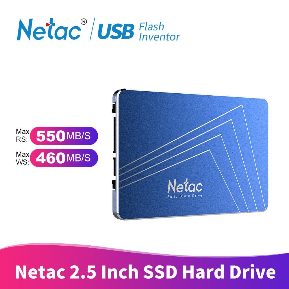Netac SSD 240 GB 120GB 480GB 2.5'' SSD Hard Drive 60GB 120 480 GB 240GB 1TB Internal Solid State Drive Disk For Laptop Computer