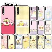 Ruicaica Sanrio pompompurin lovely cartoon girl Black Phone Case Cover for Huawei Mate10 Lite P20 Pro P9 P10 Plus View 10