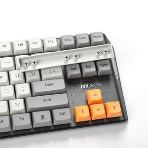 Image 5 - New Arrival XDA 87 ANSI Gray Orange Mixed Lotus Keyset Dye sub Dye Sublimation Keycap for MX Mechanical Keyboard TKL 61 Filco