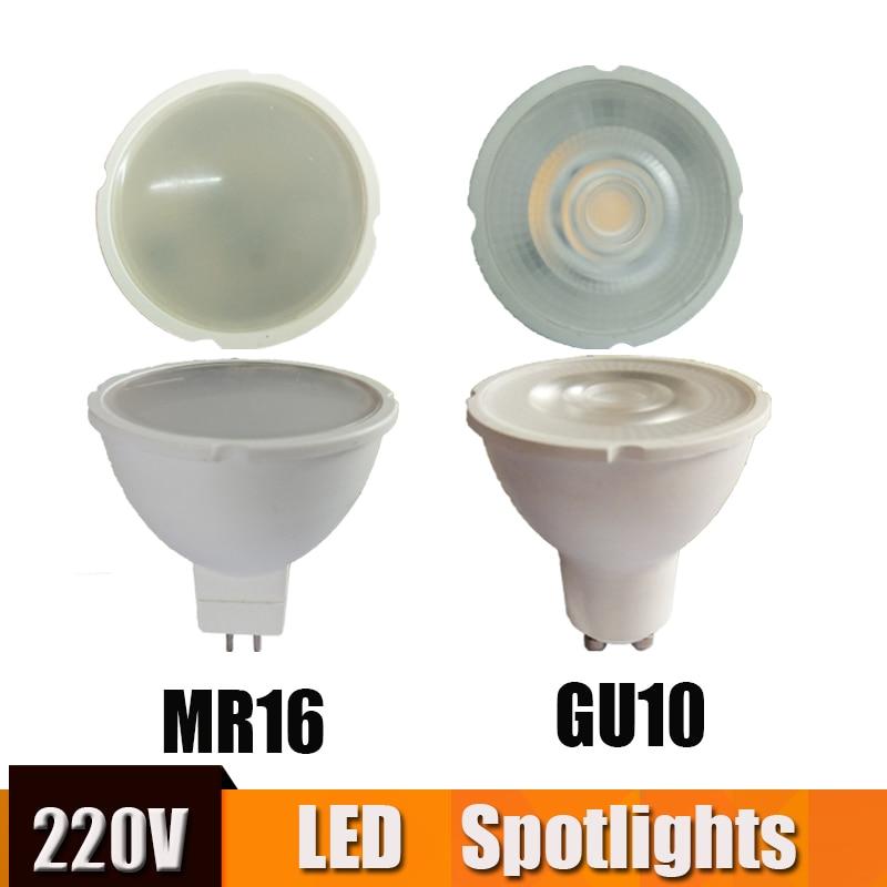 GU10 MR16 Led Spotlight Lamp 220v 6w Mini Led Spot Light Ceiling Focos Led Techo For Home Living Room Bedroom Showcase Led Bulb