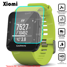 For Smartwatch Garmin Forerunner 35 F35 Smart Watch Tempered Glass Screen Protector HD Protective Film round tempered glass protective film for samsung galaxy huawei garmin huami lg fossil suunto smart watch screen protector cover