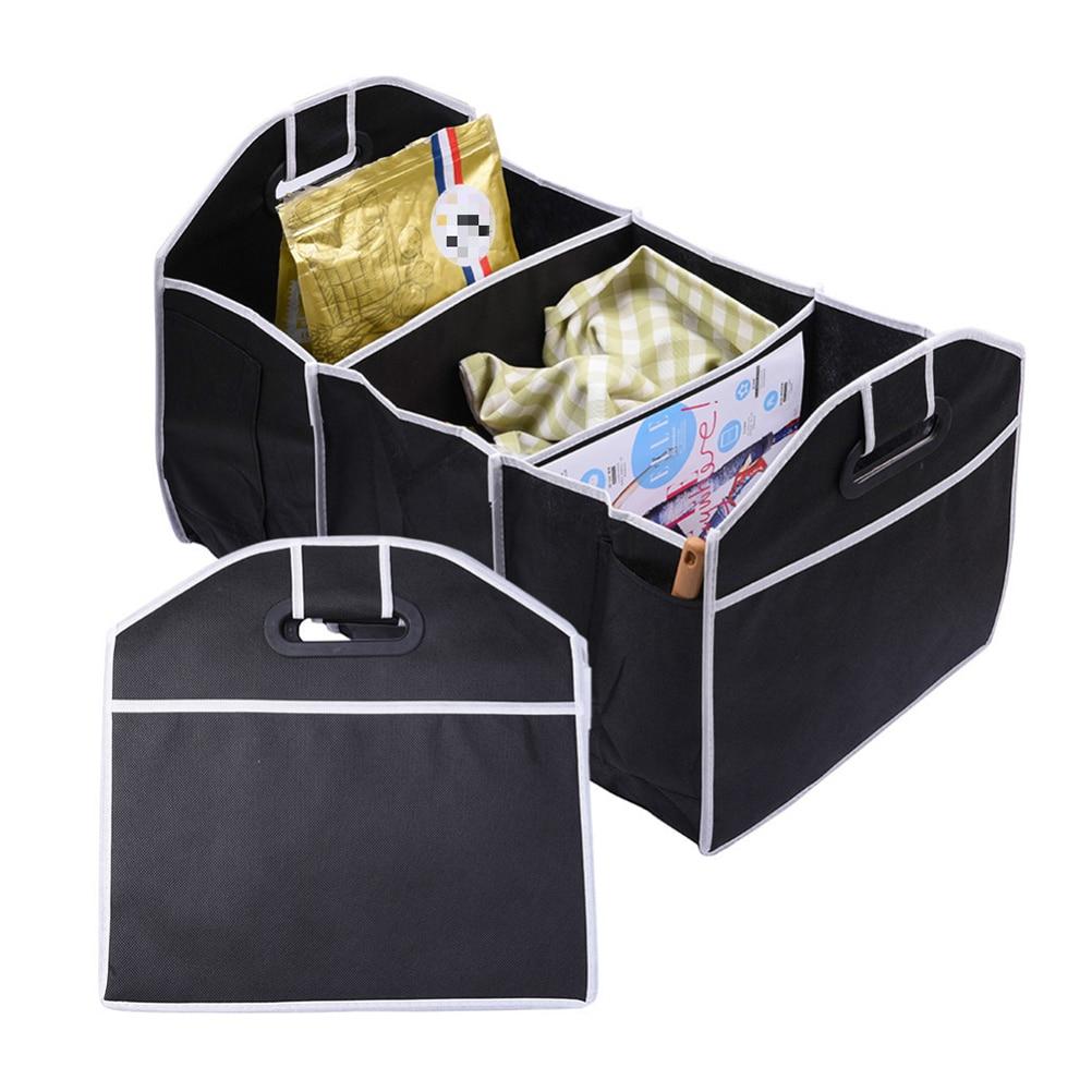 Disney Collapsible Storage Trunk Toy Box Organizer Chest: Black Collapsible Car Trunk Organizer Toys Food Storage