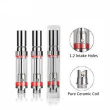 20Pcs A1 Clearomizer Электронная сигарета 0.5Ml 0.8Ml Pyrex Стеклянный резервуар для паров для 5S Vv Vape Mod Vaporizer 510 Ego Thread Mod