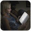 Lámpara de lectura de la tableta portátil ligero dimmable estudiantes Noche de Lectura de Luz LED de visión nocturna de luz de lectura de jabalí