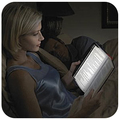 Lightweight portable tablet reading lamp dimmable students Night Light Reading LED night vision reading light boar