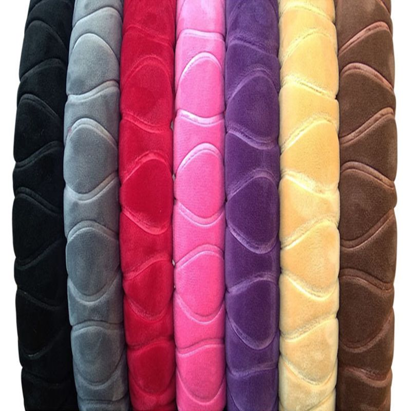 font b Car b font Steering Wheel Cover Braid On The Wheel Covers Handle 3D