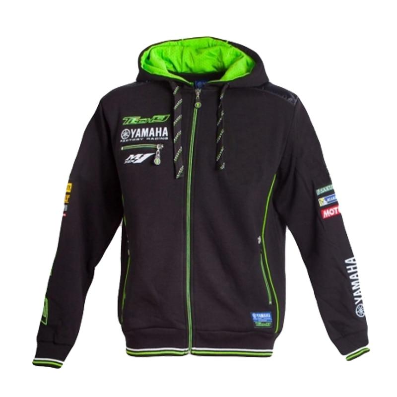 2018 printemps et automne nouvelle veste de moto costume de course Jersey veste à capuche zippé pour Yamaha veste