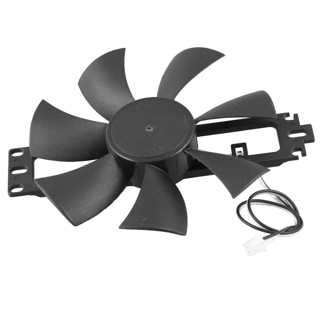 DC 18V Plastic Induction Cooker Brushless Cooling Fan black plastic housing 275v ac 2uf radial lead induction cooker capacitor