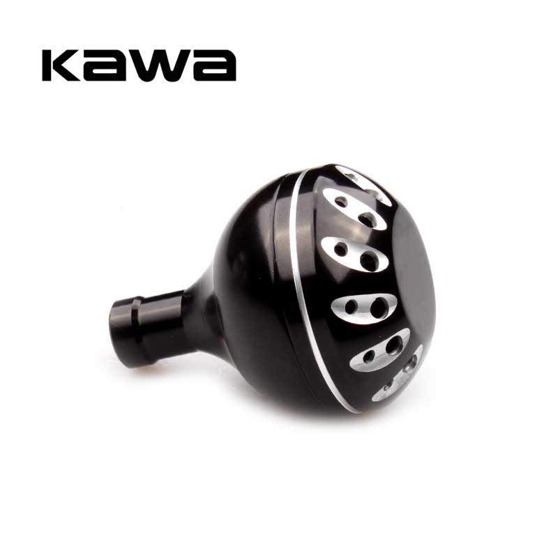Kawa Angeln Reel Griff Knopf Dia 30mm für Spinnrad Bearbeitete Metall Angeln Rocker Knob Für shimano und Daiwa spinning Reel
