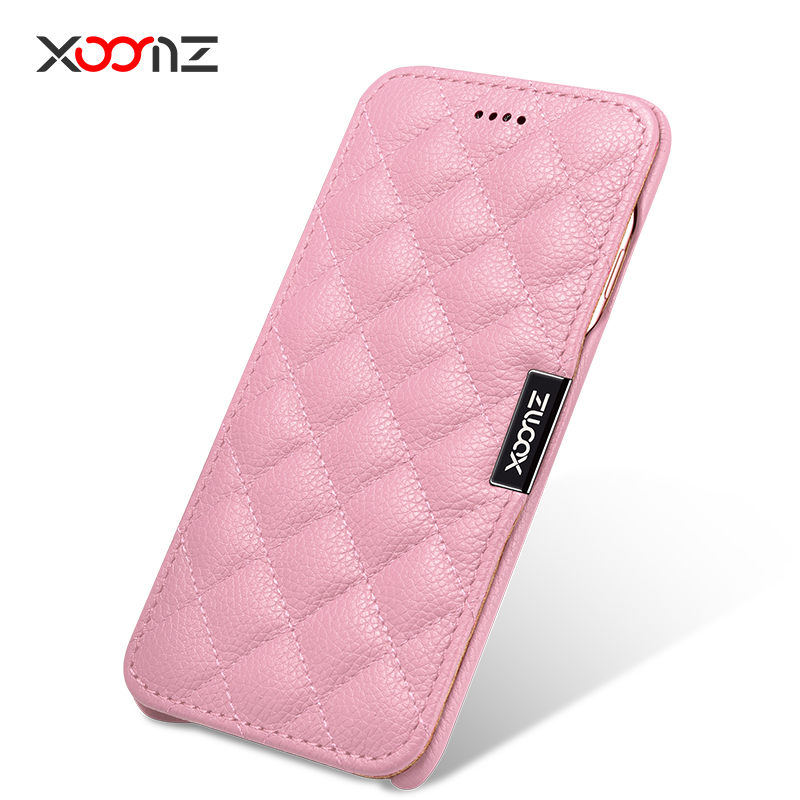 For Iphone 7 4 7 Lady Wife Girl Original Icarer XOOMZ Brand Real Genuine Leather Cover