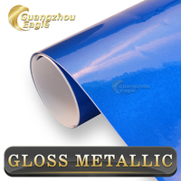 2015 New Series Car Vinyl Wrap Glossy Metallic Vinyl Wholesale Rolls Auto Decoration Factory Car Film