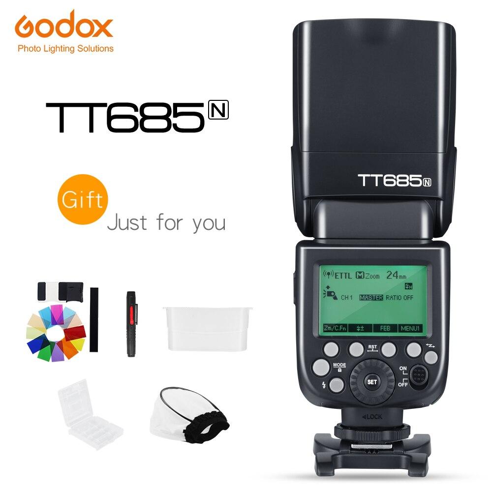 Godox Thinklite TTL TT685N Camera Flash High Speed 1 8000s GN60 for Nikon Cameras I TTL