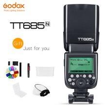 Flash pour appareil photo Godox Thinklite TTL TT685N haute vitesse 1/8000s GN60 pour appareils photo Nikon I TTL II Autoflash (TT685N)