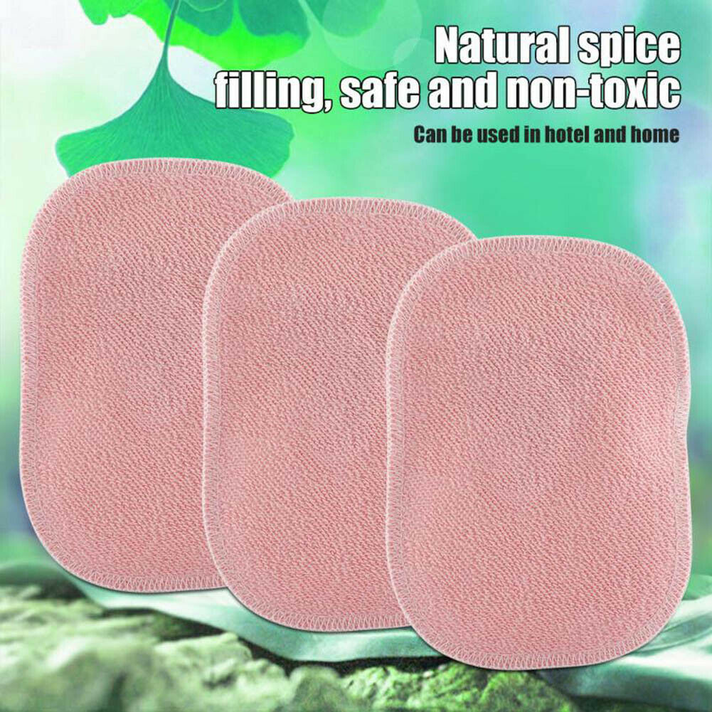 Newly 3/5Pcs Dust Mite Killing Pad Safe Cotton With Spice Anti-mite Pads Cushion For Home Sofa TE889