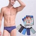 4 Colors Male Panties Sexy Underwear Men's underpants Top Quality Cotton Underwear M/L/XL/XXL/XXXL/4XL
