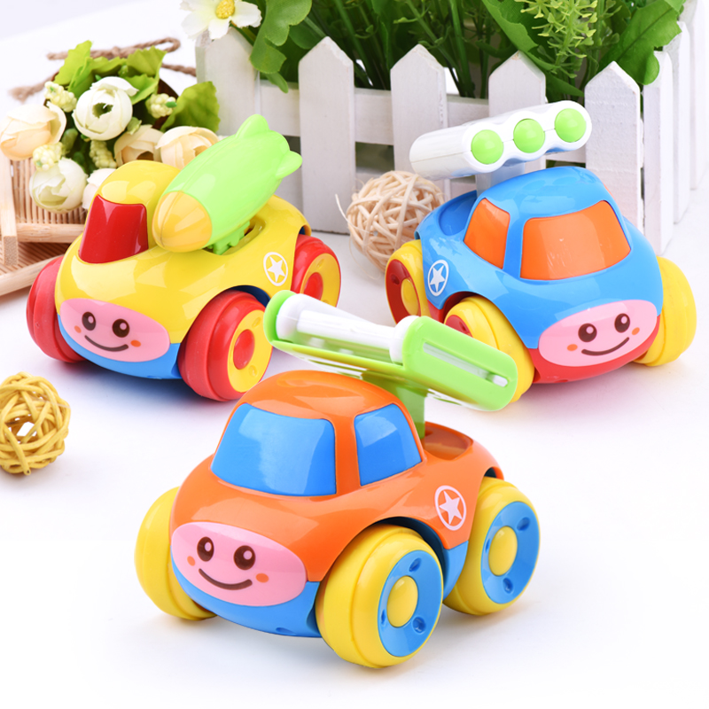 Baby toy 6-12 month cartoon inertia toy car small toy car for boy voiture enfant diecast toy vehicles miniaturas miniature model