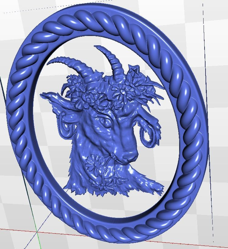 3d  model  relief  for cnc in STL file format Panno_k locket 16 for cnc in stl file format 3d model relief