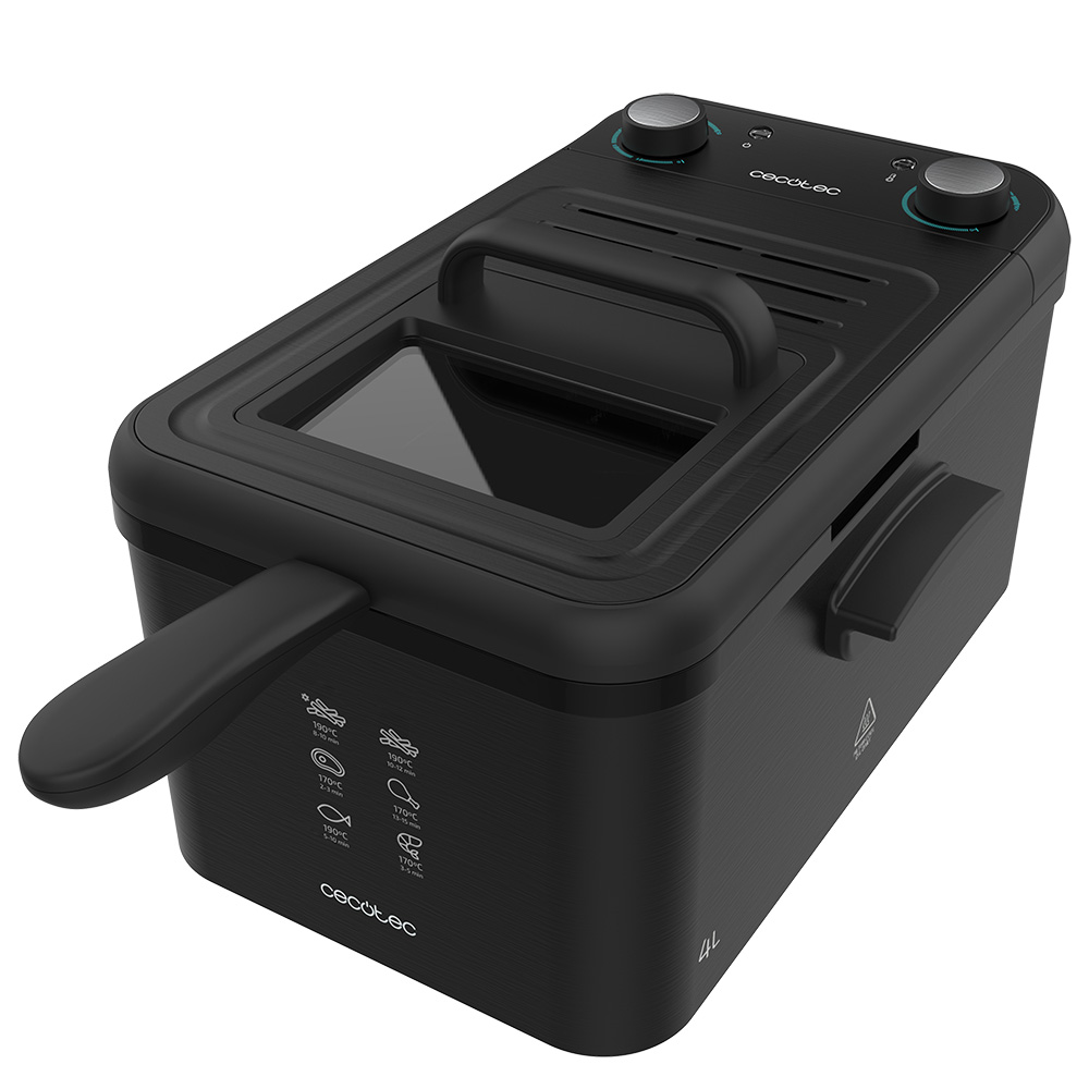 Cecotec CleanFry Infinity 4000 Black