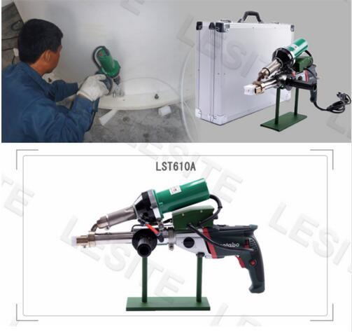 Hot Air Welding Machine LST610A Pipeline Portable Extrusion Plastic Welding Torch Machine Extrusion Type Plastic Welding Gun