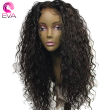 Eva Hair 150 Density Pre Plucked Lace Front Human Hair Wigs For Black Women 13X6 Front Lace Brazilian Remy Hair With Baby Hair
