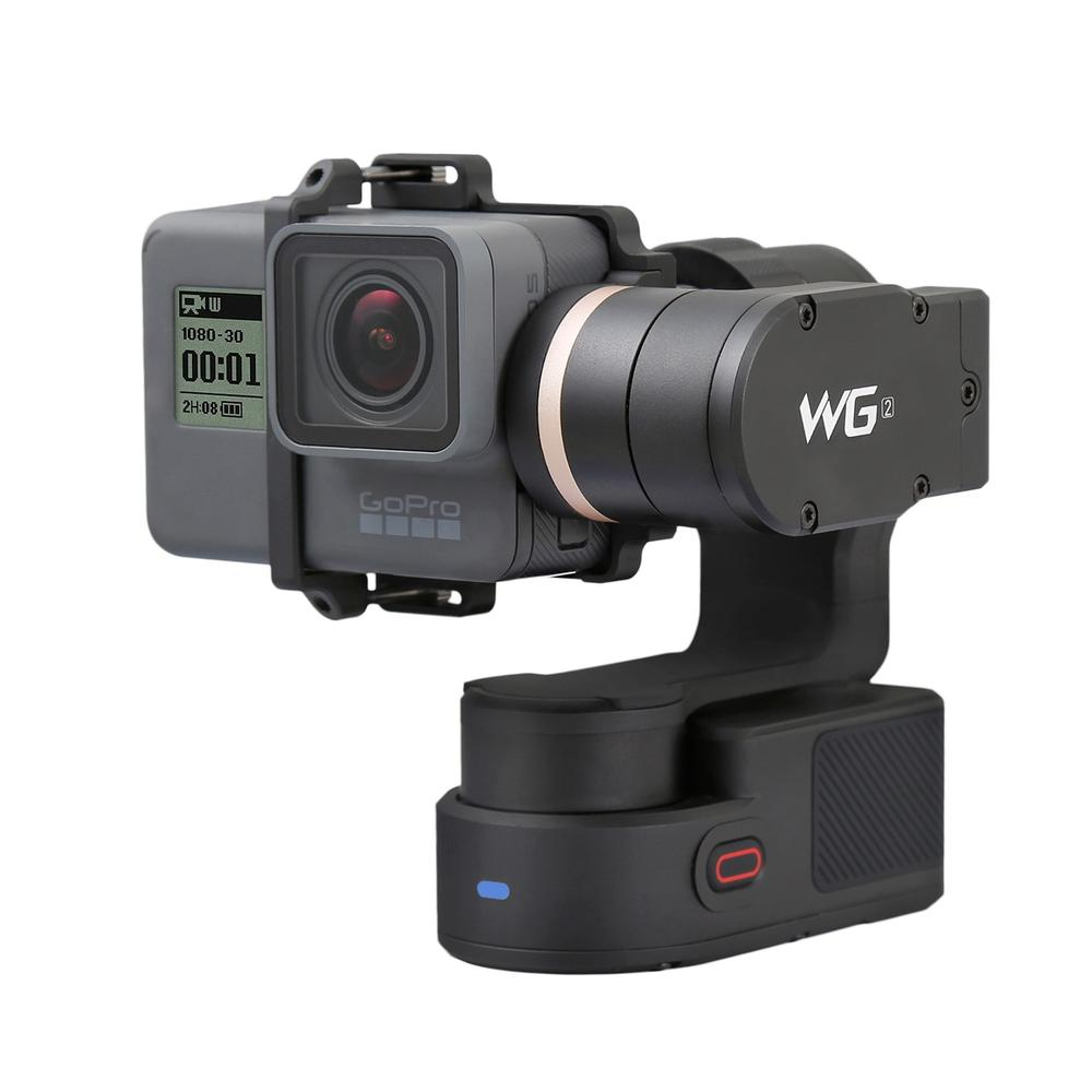 New Designer FeiyuTech Feiyu WG2 FY-WG2 3-Axis Wearable Waterproof Handled Gimbal Stabilizers for GoPro Hero 5 4 Session new feiyu tech fy wg 3 axis wearable gimbal lightweight for gopro hero 4 3 3 camera photograrhy for aircraft ilookplus