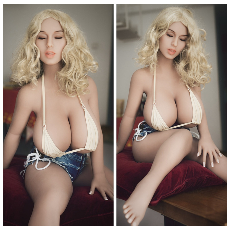 <font><b>108cm</b></font> <font><b>Sex</b></font> <font><b>Dolls</b></font> Mini Japanese Realistic Silicone Love <font><b>Doll</b></font> with Skeleton Lifelike Big Breast Real Adult Toys image