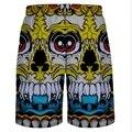 Горячая продается доска шорты мужские настольные шорты Мужчин Летом Мода Повседневная Черный Хлопок Пляж Шорты мужчины sunga