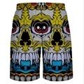 Vendido caliente cortocircuitos del tablero de los hombres pantalones cortos Los Hombres de Verano de Moda Casual Negro de Algodón Playa shorts sunga