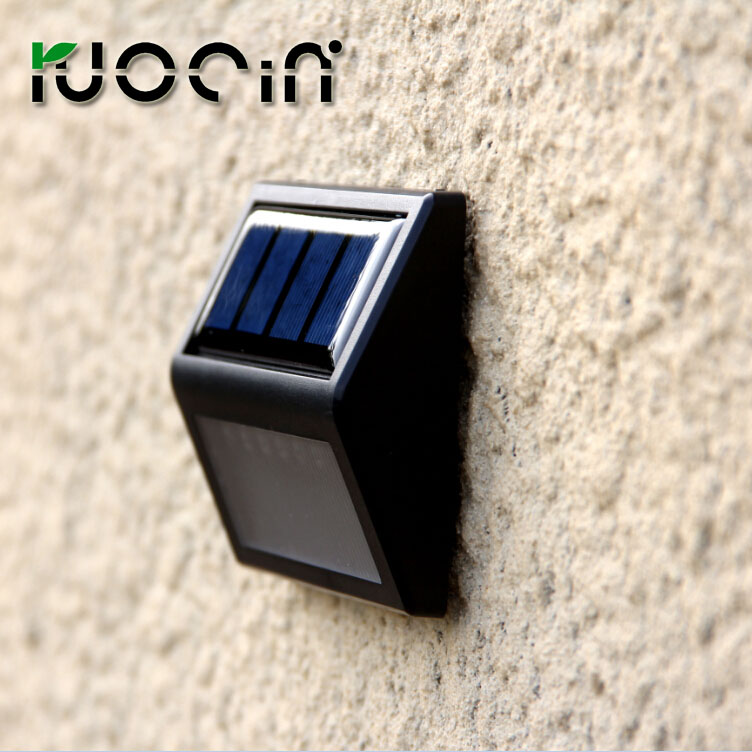 wholesale 2 pcs solar lights small solar lights solar wall pack light stair lightin Outdoor