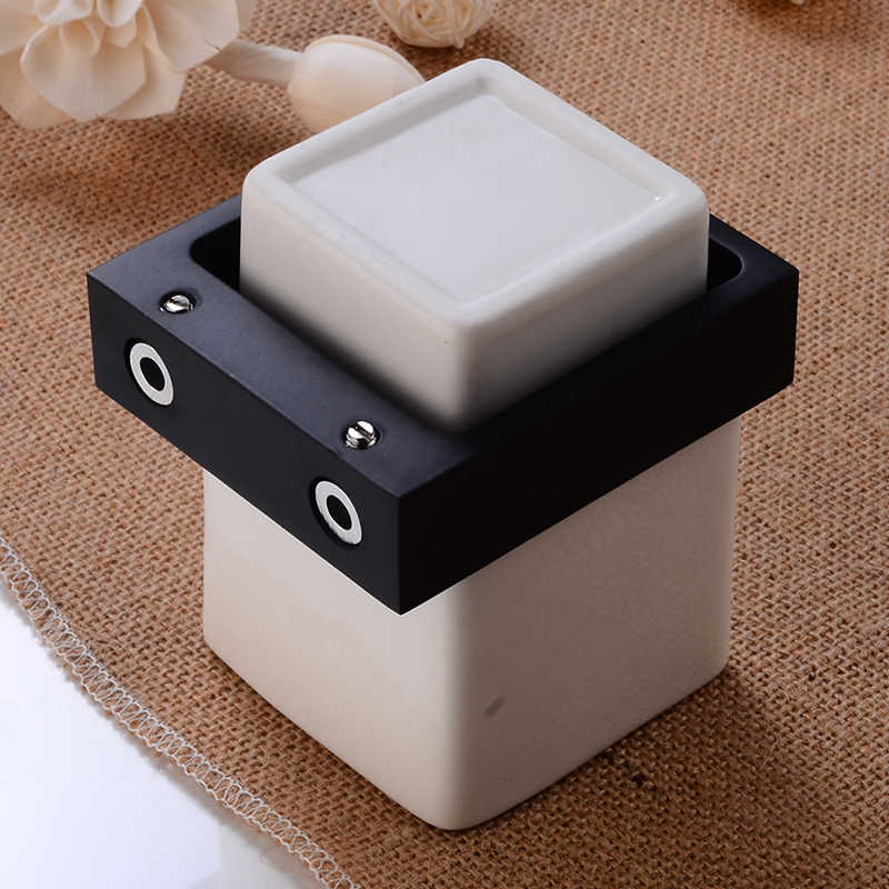 Uchwyt na szczoteczki do zębów uchwyt na kubek uchwyt na akcesoria łazienkowe uchwyt na szczoteczki do zębów zestaw ścienny aluminiowe półki łazienkowe kreatywne
